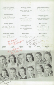 Page 15, 1942 Edition, Woodrow Wilson High School - Echo Yearbook (Beckley, WV) online yearbook collection