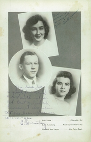 Page 10, 1943 Edition, Woodrow Wilson High School - Echo Yearbook (Beckley, WV) online yearbook collection