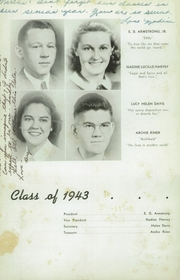 Page 12, 1943 Edition, Woodrow Wilson High School - Echo Yearbook (Beckley, WV) online yearbook collection