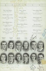 Page 13, 1943 Edition, Woodrow Wilson High School - Echo Yearbook (Beckley, WV) online yearbook collection