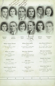 Page 14, 1943 Edition, Woodrow Wilson High School - Echo Yearbook (Beckley, WV) online yearbook collection