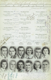 Page 15, 1943 Edition, Woodrow Wilson High School - Echo Yearbook (Beckley, WV) online yearbook collection