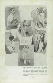 Page 7, 1943 Edition, Woodrow Wilson High School - Echo Yearbook (Beckley, WV) online yearbook collection