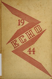 1944 Edition, Woodrow Wilson High School - Echo Yearbook (Beckley, WV)