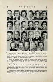Page 10, 1944 Edition, Woodrow Wilson High School - Echo Yearbook (Beckley, WV) online yearbook collection