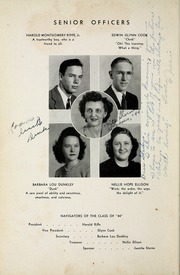 Page 14, 1944 Edition, Woodrow Wilson High School - Echo Yearbook (Beckley, WV) online yearbook collection