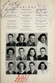 Page 15, 1944 Edition, Woodrow Wilson High School - Echo Yearbook (Beckley, WV) online yearbook collection