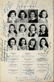 Page 16, 1944 Edition, Woodrow Wilson High School - Echo Yearbook (Beckley, WV) online yearbook collection