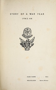 Page 5, 1944 Edition, Woodrow Wilson High School - Echo Yearbook (Beckley, WV) online yearbook collection