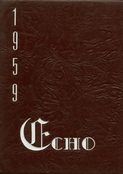 Page 1, 1959 Edition, Woodrow Wilson High School - Echo Yearbook (Beckley, WV) online yearbook collection