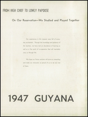 Page 9, 1947 Edition, Logan High School - Guyana Yearbook (Logan, WV) online yearbook collection