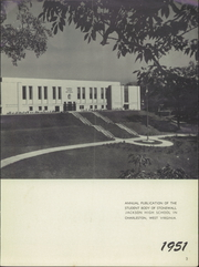Page 9, 1951 Edition, Stonewall Jackson High School - Jacksonian Yearbook (Charleston, WV) online yearbook collection