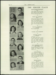 Page 12, 1945 Edition, Hurricane High School - Yearbook (Hurricane, WV) online yearbook collection