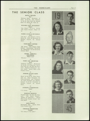 Page 13, 1945 Edition, Hurricane High School - Yearbook (Hurricane, WV) online yearbook collection