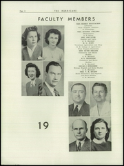Page 8, 1945 Edition, Hurricane High School - Yearbook (Hurricane, WV) online yearbook collection