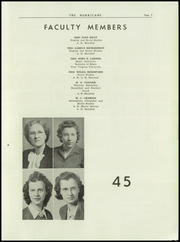 Page 9, 1945 Edition, Hurricane High School - Yearbook (Hurricane, WV) online yearbook collection