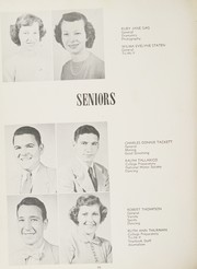 Man High School - Hillbilly Yearbook (Man, WV) online yearbook collection, 1951 Edition, Page 30