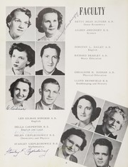 Page 12, 1952 Edition, Man High School - Hillbilly Yearbook (Man, WV) online yearbook collection