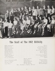 Page 8, 1952 Edition, Man High School - Hillbilly Yearbook (Man, WV) online yearbook collection