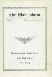 Page 7, 1935 Edition, Scott High School - Scottonian Yearbook (Madison, WV) online yearbook collection