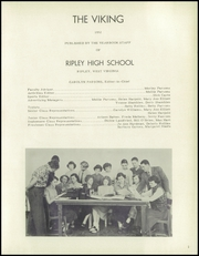 Page 5, 1952 Edition, Ripley High School - Viking Yearbook (Ripley, WV) online yearbook collection