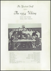 Page 5, 1954 Edition, Ripley High School - Viking Yearbook (Ripley, WV) online yearbook collection