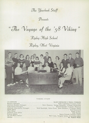 Page 5, 1958 Edition, Ripley High School - Viking Yearbook (Ripley, WV) online yearbook collection