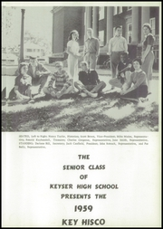 Page 5, 1959 Edition, Keyser High School - Keyhisco Yearbook (Keyser, WV) online yearbook collection