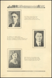 Page 13, 1925 Edition, Richwood High School - Lumberjack Yearbook (Richwood, WV) online yearbook collection