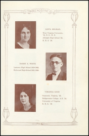 Page 13, 1926 Edition, Richwood High School - Lumberjack Yearbook (Richwood, WV) online yearbook collection
