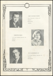 Page 14, 1930 Edition, Richwood High School - Lumberjack Yearbook (Richwood, WV) online yearbook collection