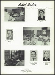 Page 11, 1956 Edition, Richwood High School - Lumberjack Yearbook (Richwood, WV) online yearbook collection