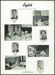 Page 12, 1956 Edition, Richwood High School - Lumberjack Yearbook (Richwood, WV) online yearbook collection