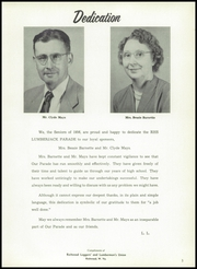 Page 7, 1956 Edition, Richwood High School - Lumberjack Yearbook (Richwood, WV) online yearbook collection
