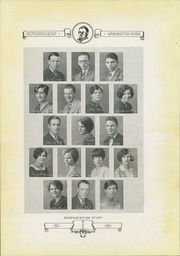 Page 10, 1928 Edition, Washington Irving High School - Reminiscences Yearbook (Clarksburg, WV) online yearbook collection
