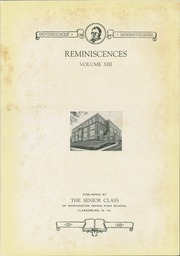 Page 5, 1928 Edition, Washington Irving High School - Reminiscences Yearbook (Clarksburg, WV) online yearbook collection