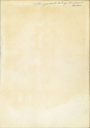 Page 3, 1942 Edition, Washington Irving High School - Reminiscences Yearbook (Clarksburg, WV) online yearbook collection