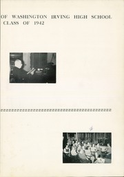 Page 7, 1942 Edition, Washington Irving High School - Reminiscences Yearbook (Clarksburg, WV) online yearbook collection
