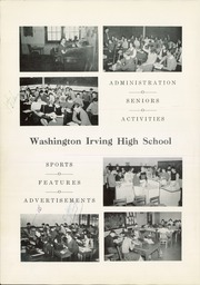 Page 8, 1942 Edition, Washington Irving High School - Reminiscences Yearbook (Clarksburg, WV) online yearbook collection