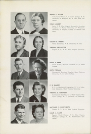Page 16, 1948 Edition, Washington Irving High School - Reminiscences Yearbook (Clarksburg, WV) online yearbook collection
