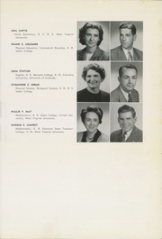 Page 17, 1948 Edition, Washington Irving High School - Reminiscences Yearbook (Clarksburg, WV) online yearbook collection