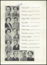 Page 13, 1952 Edition, Washington Irving High School - Reminiscences Yearbook (Clarksburg, WV) online yearbook collection