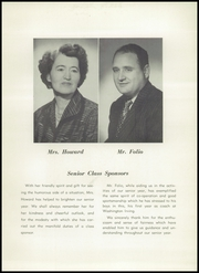 Page 9, 1952 Edition, Washington Irving High School - Reminiscences Yearbook (Clarksburg, WV) online yearbook collection