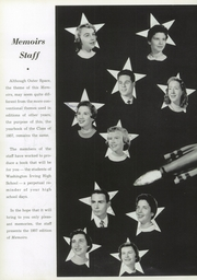 Page 8, 1957 Edition, Washington Irving High School - Reminiscences Yearbook (Clarksburg, WV) online yearbook collection