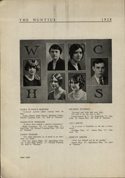 Page 10, 1928 Edition, Wayne High School - Nuntius Yearbook (Wayne, WV) online yearbook collection