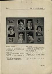 Page 11, 1928 Edition, Wayne High School - Nuntius Yearbook (Wayne, WV) online yearbook collection
