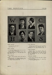 Page 12, 1928 Edition, Wayne High School - Nuntius Yearbook (Wayne, WV) online yearbook collection