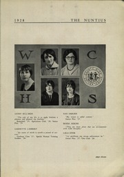 Page 13, 1928 Edition, Wayne High School - Nuntius Yearbook (Wayne, WV) online yearbook collection