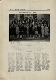 Page 16, 1928 Edition, Wayne High School - Nuntius Yearbook (Wayne, WV) online yearbook collection