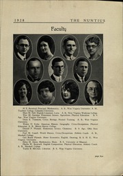 Page 7, 1928 Edition, Wayne High School - Nuntius Yearbook (Wayne, WV) online yearbook collection